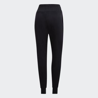 Ženy Cvičení A Trénink černá Kalhoty Essentials Solid