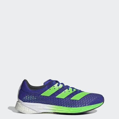 Running Blue Adizero Pro Shoes
