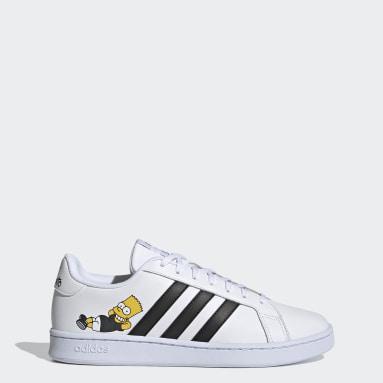 ผู้ชาย Sport Inspired สีขาว รองเท้า Grand Court