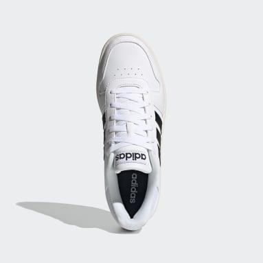 Men Basketball White Hoops 2.0 Shoes