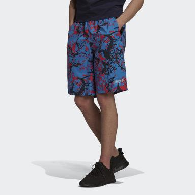 Men's Originals Multicolor adidas Adventure Archive Printed Woven Shorts