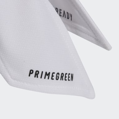 Feldhockey Tennis Two-Color AEROREADY Reversible Stirnband Weiß
