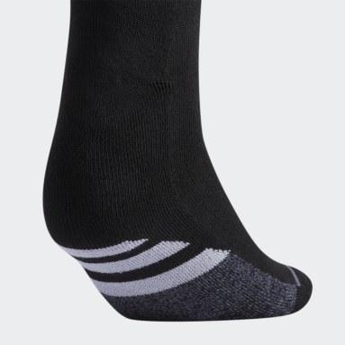 Women's Training Black Cushioned Crew Socks 3 Pairs XL