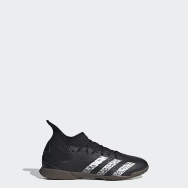 Kids Futsal Black Predator Freak.3 Indoor Boots