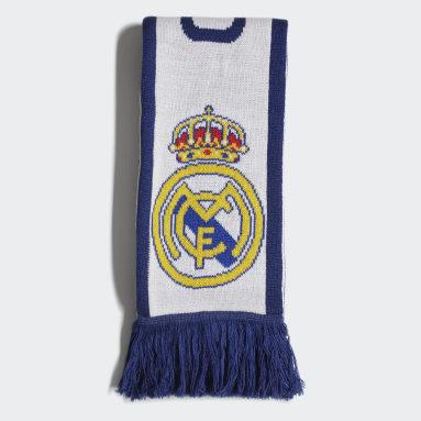 Fotboll Vit Real Madrid Scarf