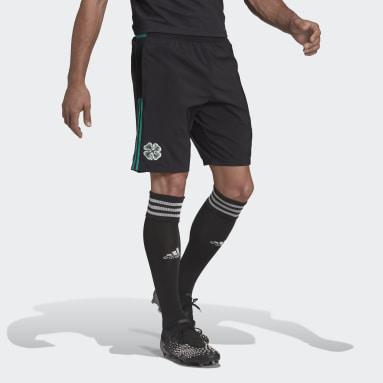 Celtic FC Tiro Downtime Shorts Svart