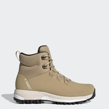Women TERREX Beige Terrex Pathmaker CW Shoes