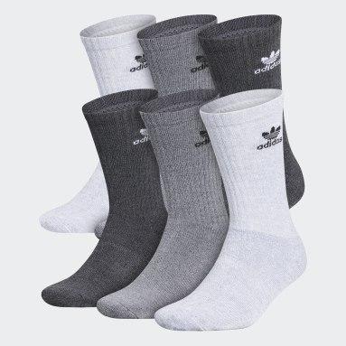 Men's Originals Multicolor Trefoil Crew Socks 6 Pairs