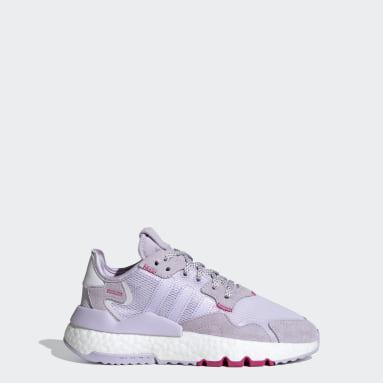 Youth Originals Purple Nite Jogger Shoes