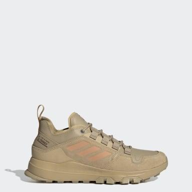Heren TERREX beige Terrex Urban Low Leren Hiking Schoenen