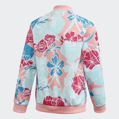 Girls Originals Pink SST Track Jacket