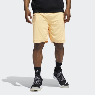 Donovan Mitchell Shorts Pomarańczowy