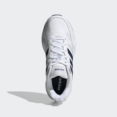 Men Sport Inspired White Strutter Shoes