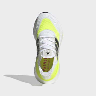 Chaussure Ultraboost 21 blanc Adolescents 8-16 Years Course