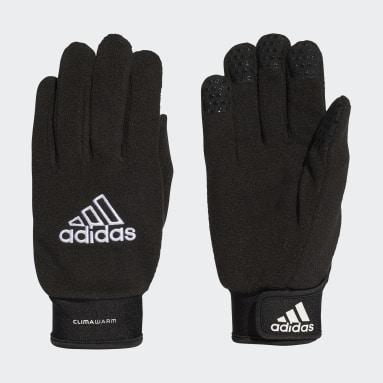 Voetbal Zwart Veldspeler Handschoenen