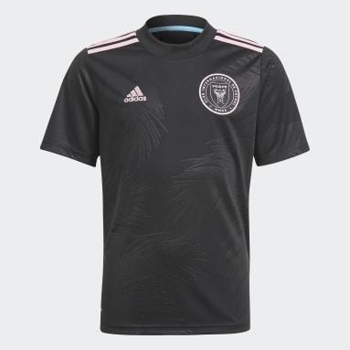 Camiseta segunda equipación Inter Miami CF 21/22 Negro Niño Fútbol