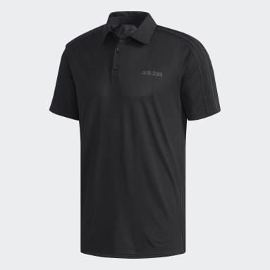 Erkek Training Siyah Design 2 Move Polo Tişört