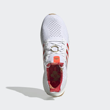 Men Running White Ultraboost 5.0 DNA Shoes