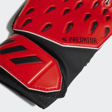 Børn Fodbold Rød Predator Training målmandshandsker