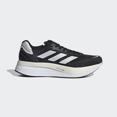 Men Running Black Adizero Boston 10 Shoes