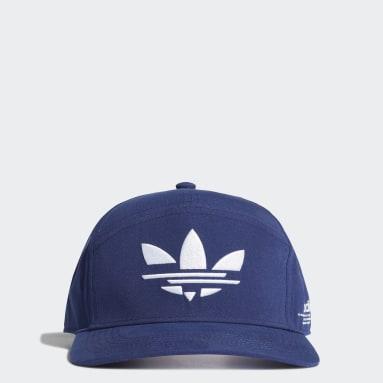 Originals White Adicolor Snapback Cap
