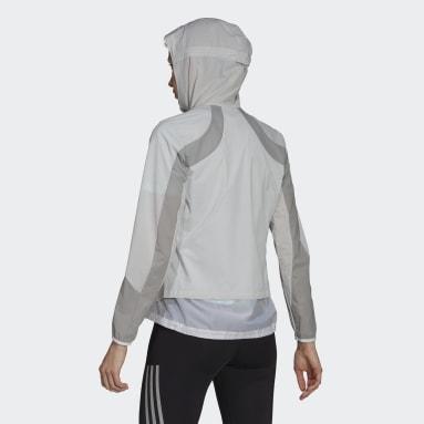 Veste Adizero Marathon blanc Femmes Course