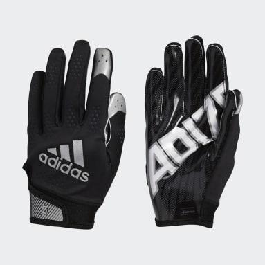 Men's Football Black Adizero 11 Turbo Gloves
