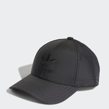 Originals สีดำ หมวกเบสบอล Adicolor Winterized Classic Trefoil