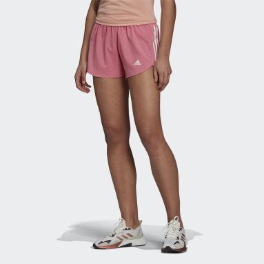 Shorts Run It Rosa Mulher Running