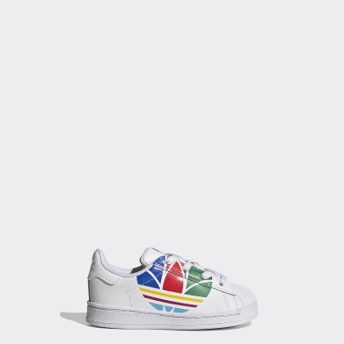 Infants Originals White Superstar Pure Shoes