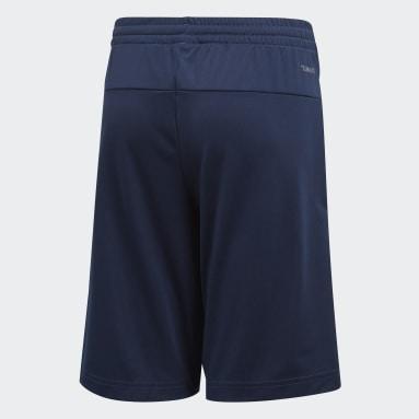Boys Gym & Training Blue Training Gear Up Knit Short