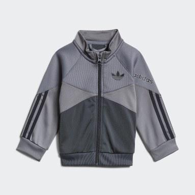 Kinder Originals adidas SPRT Trainingsanzug Grau