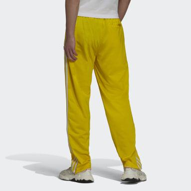 Calça Adicolor Classics Firebird Primeblue Amarelo Homem Originals