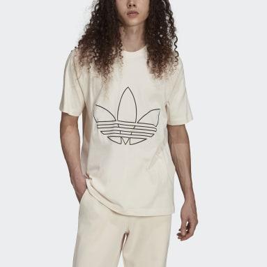 Männer Originals Graphics Tricolor T-Shirt Weiß