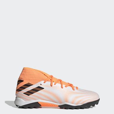 Football White Nemeziz.3 Turf Boots