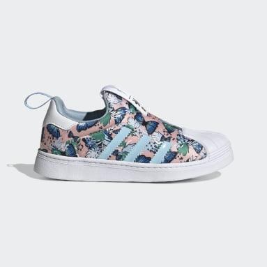 Børn Originals Pink Superstar 360 sko