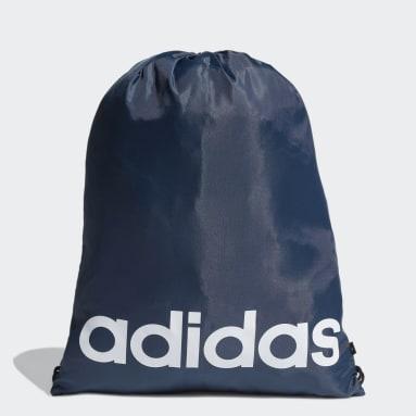 Volleybal Blauw Essentials Logo Gym Tas