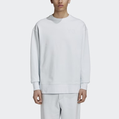 Mænd Y-3 Blå Y-3 Classic Chest Logo Crew sweatshirt