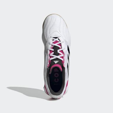 Men's Soccer White Copa Sense.3 Sala Indoor Shoes