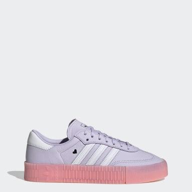 Women Originals Purple SAMBAROSE Shoes