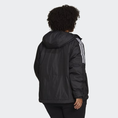 Giacca Essentials Insulated Hooded (Taglie plus) Nero Donna City Outdoor