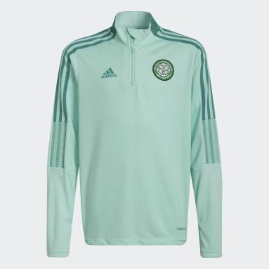 Barn Fotboll Turkos Celtic FC Tiro Training Top