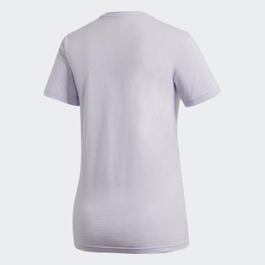 T-shirt Must Haves Badge of Sport Violet Femmes Sportswear