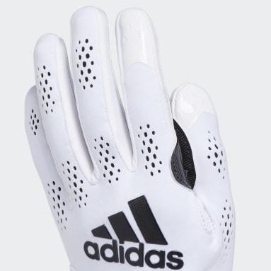 Men's Football White Adizero 11 Gloves