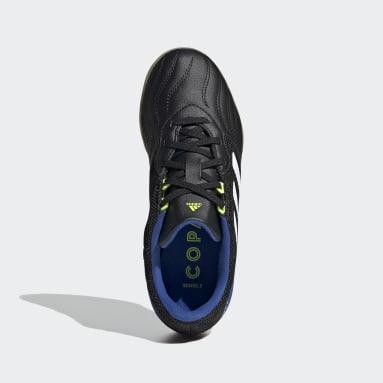 Children Soccer Black Copa Sense.3 Indoor Sala Shoes