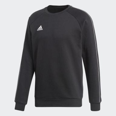 Sweatshirt Core 18 Preto Homem Ginásio E Treino