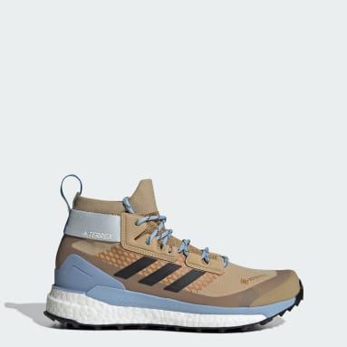 Dam TERREX Beige Terrex Free Hiker GTX Hiking Shoes