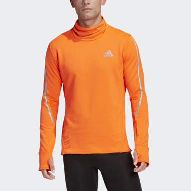 Men Running Orange COLD.RDY Cover-Up