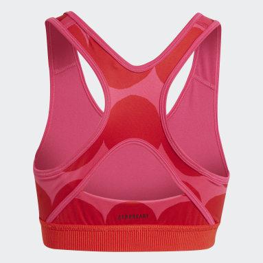 Top Marimekko Believe This Primegreen AEROREADY Training Rosa Meninas Training