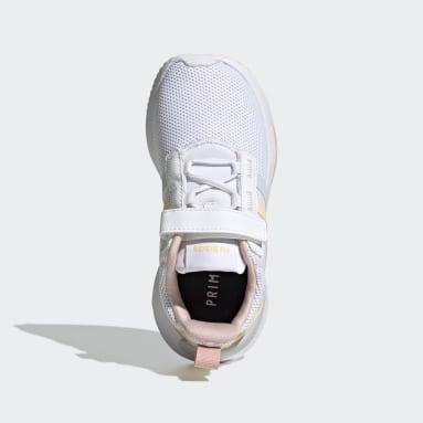 Children Essentials White Racer TR21 Shoes